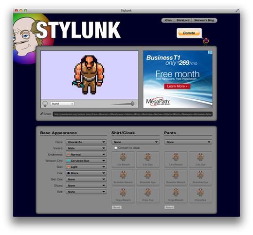 Stylunk Screenshot